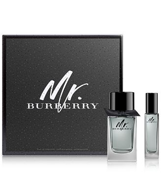 Burberry Men's 2-Pc. Mr. Burberry Eau de Toilette Gift Set