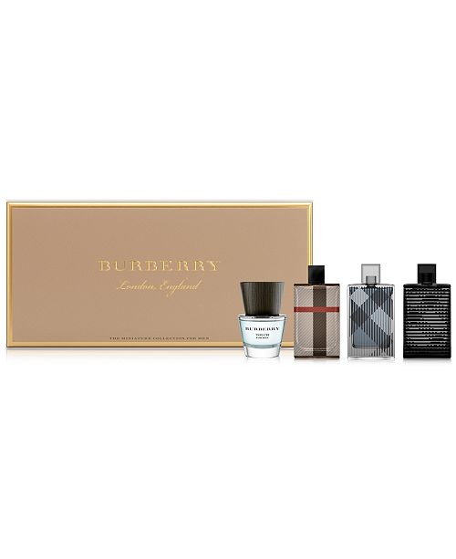 e5a91155c59 Burberry Men s 4-Pc. Coffret Gift Set