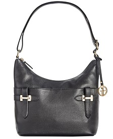 Bridle Leather Hobo, Created for Macy's