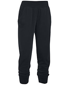 Under Armour French Terry Ankle Pants
