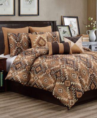 CLOSEOUT! Tennyson 10-Pc. Full Comforter Set