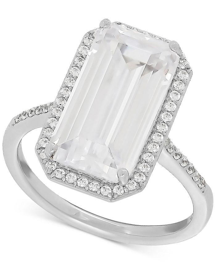 Arabella - Swarovski Zirconia Statement Ring in Sterling Silver