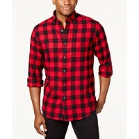 Club Room Men's Flannel Shirt Deals