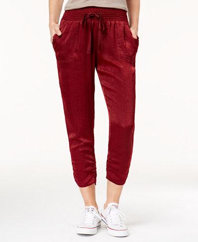 Be Bop Juniors' Satin Pants