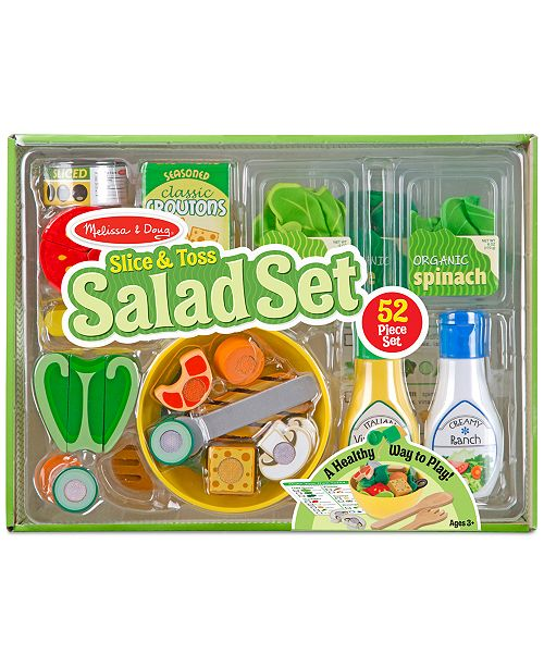 Melissa and Doug Melissa & Doug Slice & Toss Salad Set