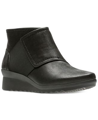 Clarks Caddell Rush Wedge Boot - Wide Width Available