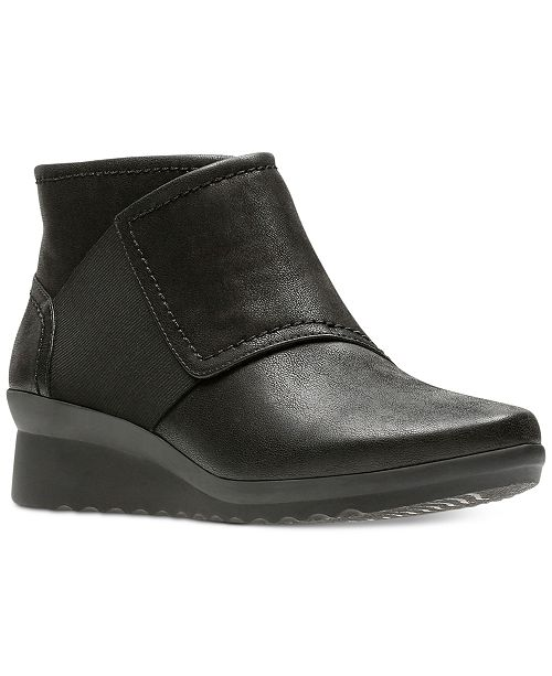 Clarks Caddell Rush Wedge Boot - Wide Width Available MQCNwL