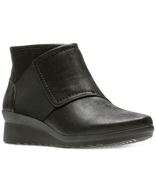6b44da3fe4d0 Clarks Women s Cloudsteppers™ Caddell Rush Booties   Reviews - Boots ...