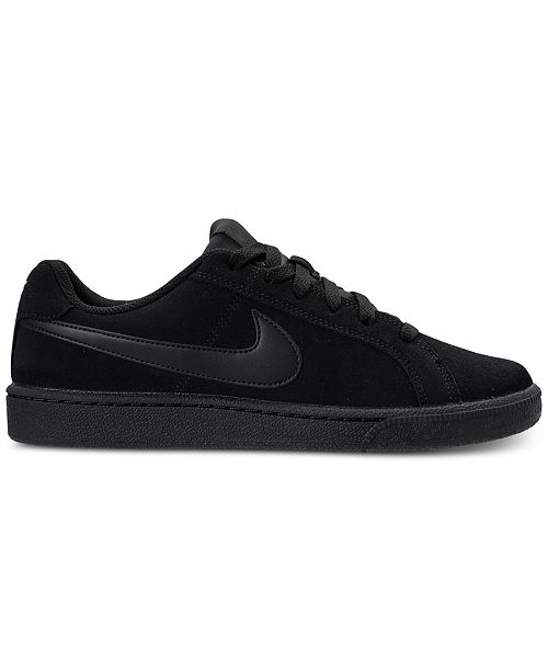 newest 36040 133b2 ... Nike Mens Court Royale Suede Casual Sneakers from Finish ...