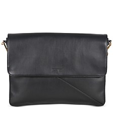 Kenneth Cole Reaction Bag-Two-Differ Faux-Leather Double Compartment Bag