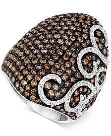 Le Vian Red Carpet® Diamond Swirl Statement Ring (4-1/5 ct. t.w.) in 14k White Gold