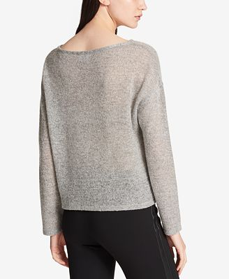 DKNY Crewneck Sweater - Sweaters - Women - Macy's