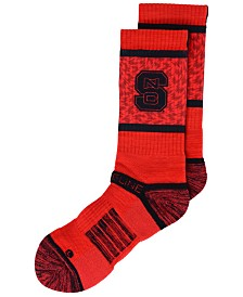 Strideline North Carolina State Wolfpack Crew Socks II