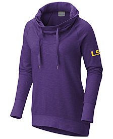 Columbia Women's LSU Tigers Down Time Hooded Tunic