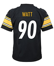 T.J. Watt Pittsburgh Steelers Game Jersey, Big Boys (8-20)