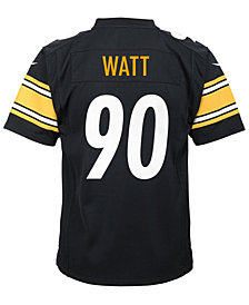 Nike T.J. Watt Pittsburgh Steelers Game Jersey, Big Boys (8-20)