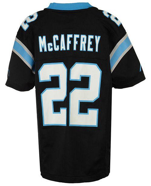 3797fcdc717 ... Nike Christian McCaffrey Carolina Panthers Game Jersey, Big Boys (8-20)  ...