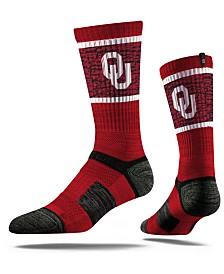 Strideline Oklahoma Sooners Crew Socks II