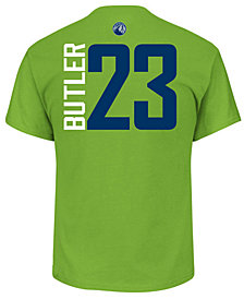 Majestic Men's Jimmy Butler Minnesota Timberwolves Vertical Name and Number T-Shirt