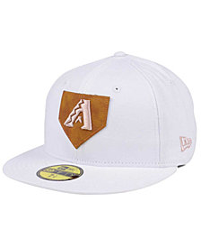 New Era Arizona Diamondbacks The Logo of Leather 59FIFTY Cap