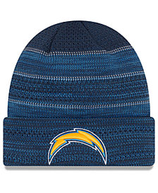 New Era Los Angeles Chargers Touchdown Cuff Knit Hat