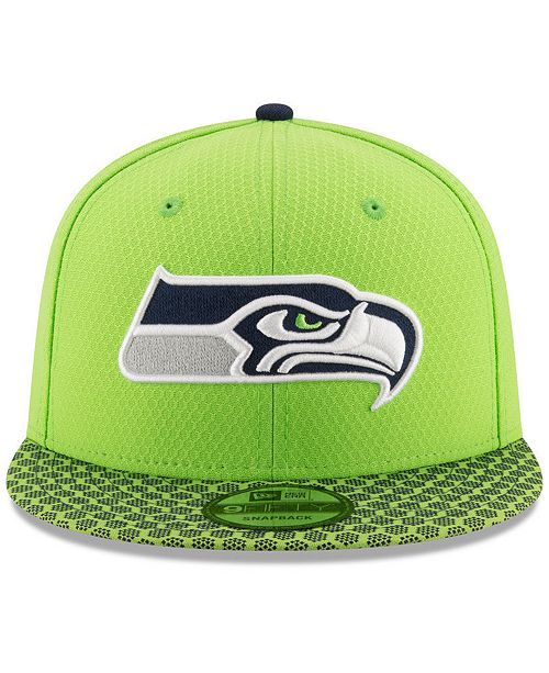 premium selection 5dffa d122e New Era. Boys  Seattle Seahawks 2017 Official Sideline 9FIFTY Snapback Cap.  Be the first to Write a Review. main image  main image  main image ...