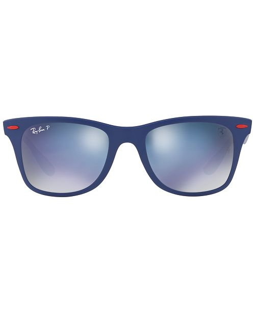 Ray-Ban Polarized Polarized Sunglasses , RB4195M SCUDERIA FERRARI COLLECTION