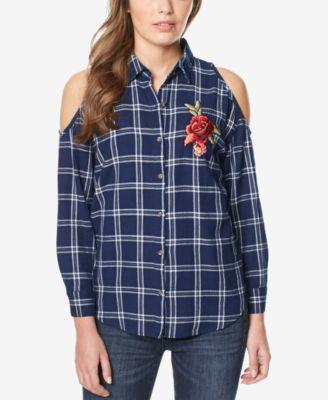 Buffalo David Bitton Striped Skinny Jeans - Jeans - Women - Macy's