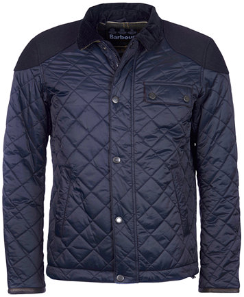 Sam Heughan for Barbour Men's Dunnotar Quilted Jacket - Coats ... : black quilted jacket mens - Adamdwight.com