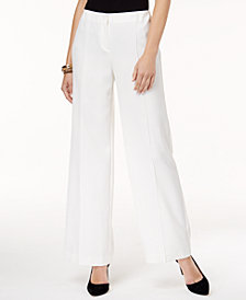 Alfani Petite Wide-Leg Pants, Created for Macy's