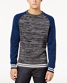American Rag Men's Varsity Sweater, Created for Macy's