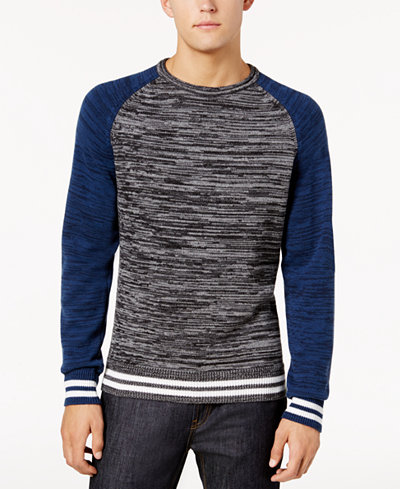 American Rag Men's Varsity Sweater, Created for Macy's