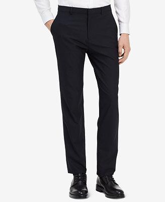 Men's  Infinite  Slim Fit Stretch Pants by Calvin Klein