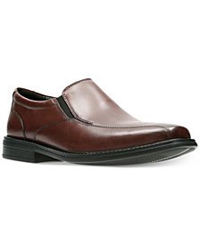 Bostonian Men's Bolton Free Brown Leather Dress Bike-Toe Loafers