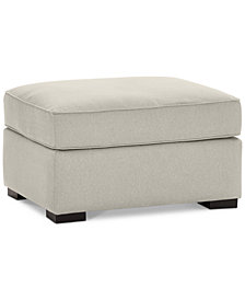 Astra Fabric Ottoman, Created for Macy's