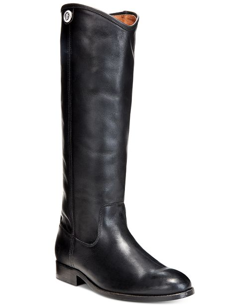 1984eca8a80 Frye Women s Melissa Button 2 Wide-Calf Tall Boots   Reviews - Boots ...