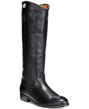 WOMEN'S MELISSA BUTTON WIDE-CALF TALL BOOTS WOMEN'S SHOES