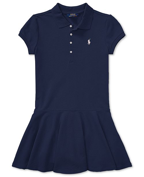 0dc2dfe2e Polo Ralph Lauren Toddler Girls Pleated Polo Dress & Reviews ...