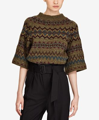 Polo Ralph Lauren Fair Isle Sweater - Sweaters - Women - Macy's
