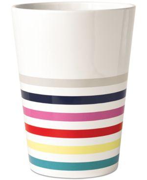 kate spade new york Candy Stripe Wastebasket Bedding 5445797
