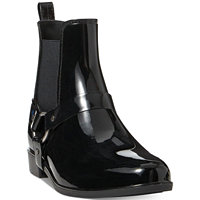 Ralph Lauren Tricia Harness Rain Boots (Black or Deep Red)