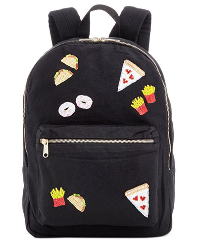 Bow & Drape Foodie Patches Medium Backpack