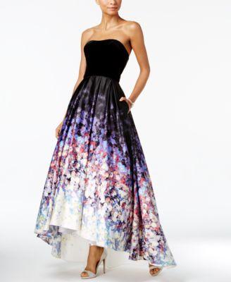 nike blazer low strapless dress