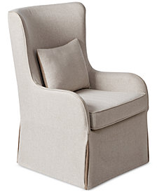 Regis Accent Chair, Quick Ship