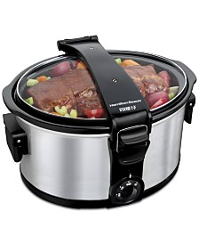 Hamilton Beach® Stay or Go® 7-Qt. Portable Slow Cooker