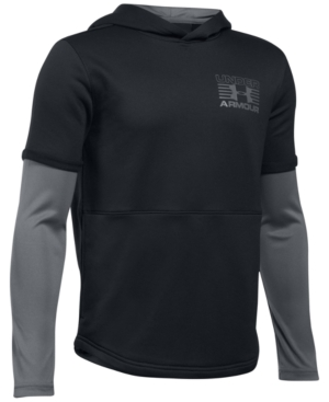Under Armour Train To Game Hooded Sweatshirt Big Boys