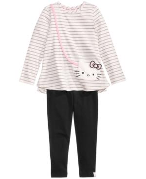 Hello Kitty 2Pc Purse Tunic  Leggings Set Little Girls (46X)