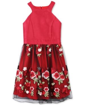Speechless Embroidered-Skirt...
