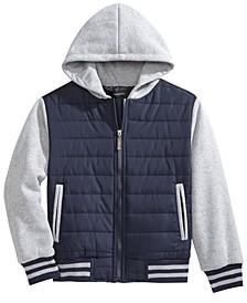 Camden Hooded Full-Zip Jacket, Big Boys, Created for Macy's