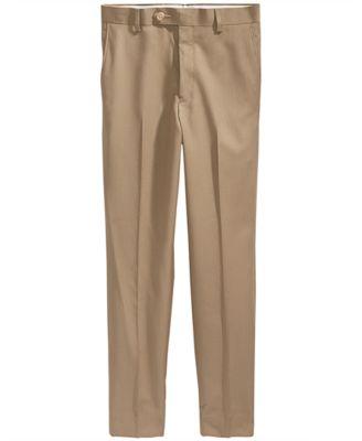 Khaki Suiting Pants, Big Boys
